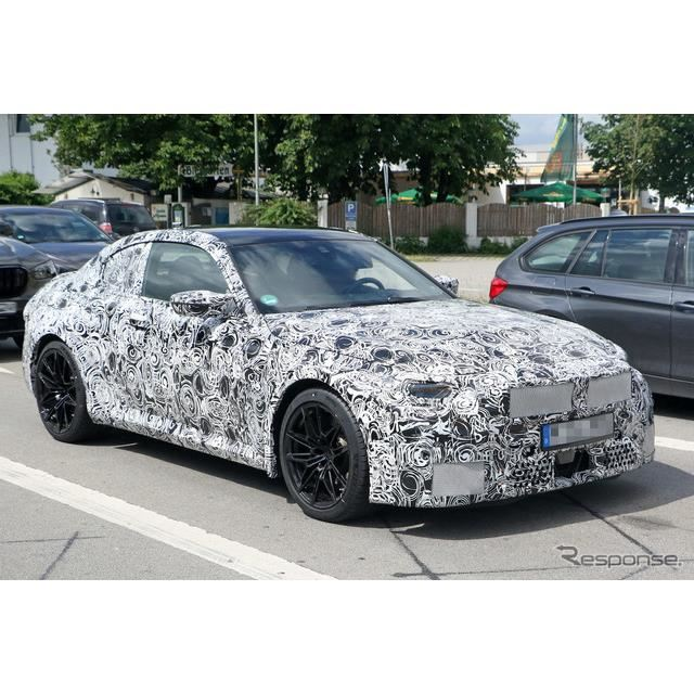 BMW M2 新型プロトタイプ スクープ写真