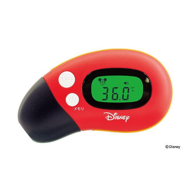 Dr.EDISON、ミッキーマウスをデザインした非接触式体温計「さっと測れる2way体温計」