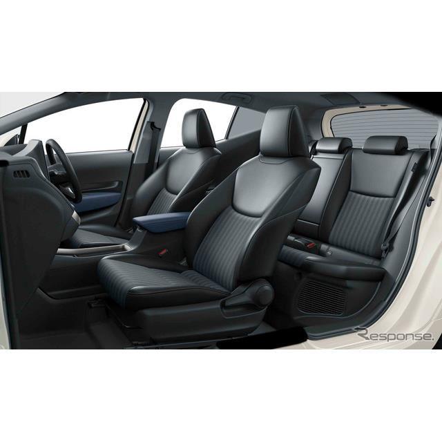 トヨタ・アクア新型。Z、2WD、内装色:コジー[ブラック×ダークネイビー]、オプション装着車