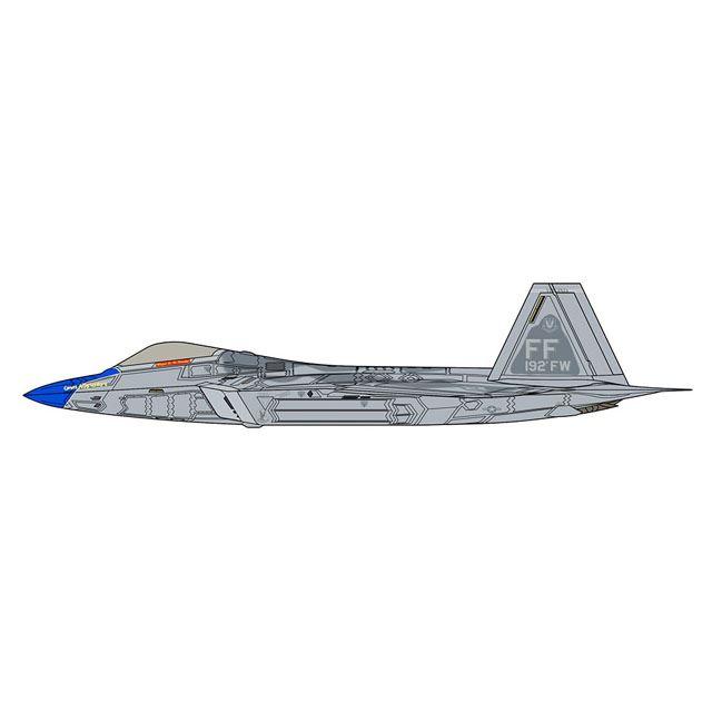 """「F-22 ラプター """"ブルーノーズ ディテールアップバージョン""""」"""