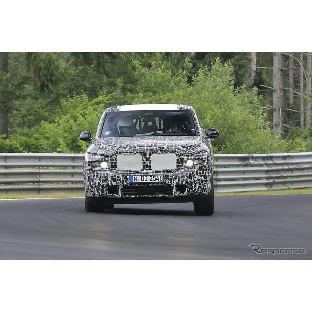 BMW X8 プロトタイプ(スクープ写真)