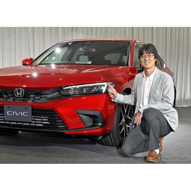 ホンダ シビック 新型と開発をとりまとめたLPLチーフエンジニアの佐藤洋介氏