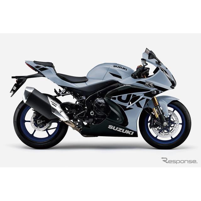 スズキGSX-R1000R ABS:マットブラックメタリックNo. 2/グラスマットメカニカルグレー