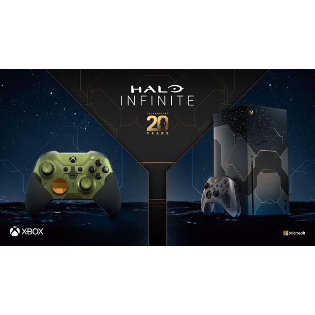 Xbox Series X ー Halo Infinite リミテッド エディション、Xbox Elite ワイヤレス コントローラー シリーズ 2 Halo Infinite リミテッド エディション