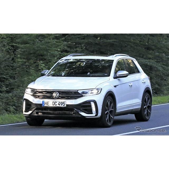 VW T-Roc R 改良新型プロトタイプ(スクープ写真)