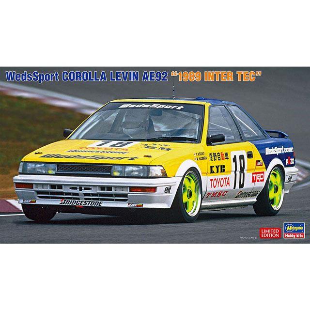 """ウェッズスポーツ カローラ レビン AE92 """"1989 インターTEC"""""""