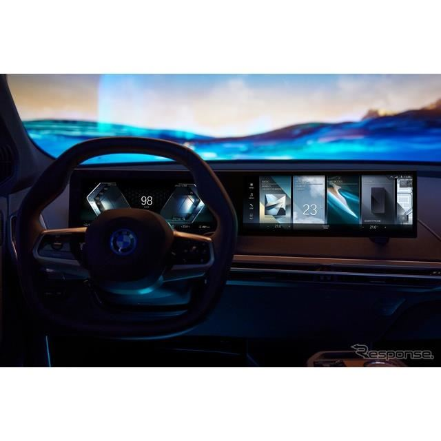 BMWの iDrive システム 新型