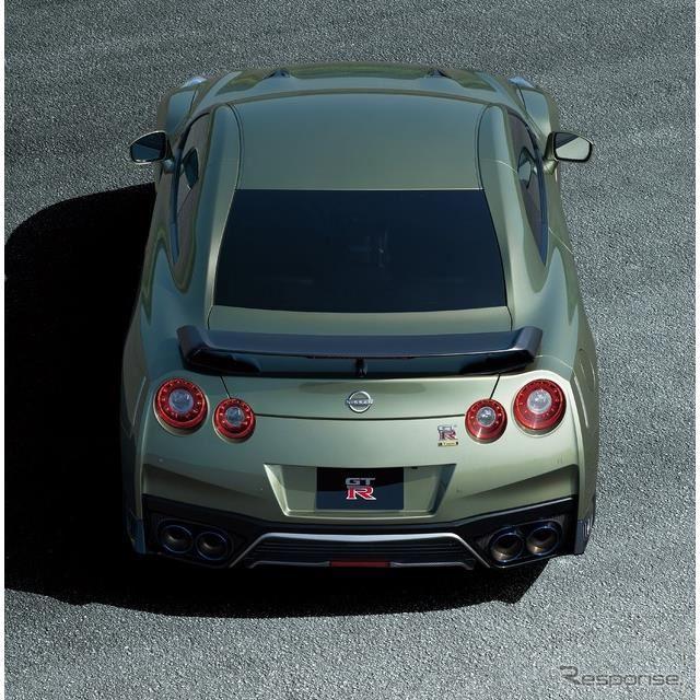 日産 GT-R プレミアムエディション T-スペック(ミレニアムジェイド)