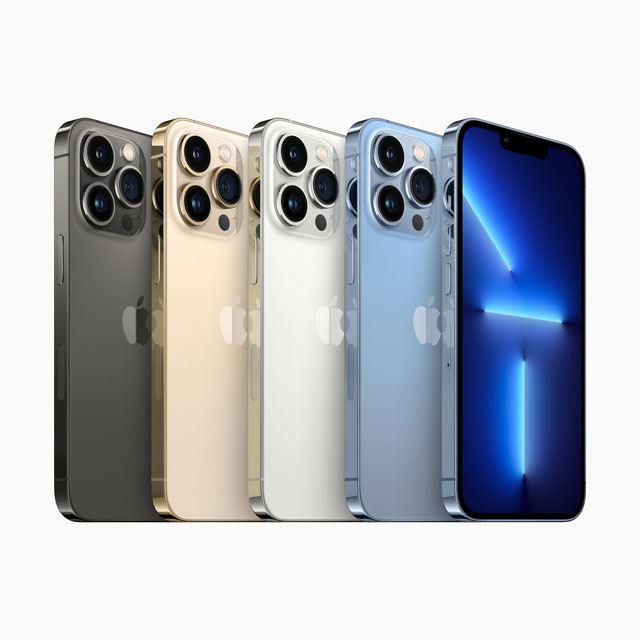 アップル、最大120Hz駆動ディスプレイ採用の「iPhone 13 Pro」「iPhone 13 Pro Max」