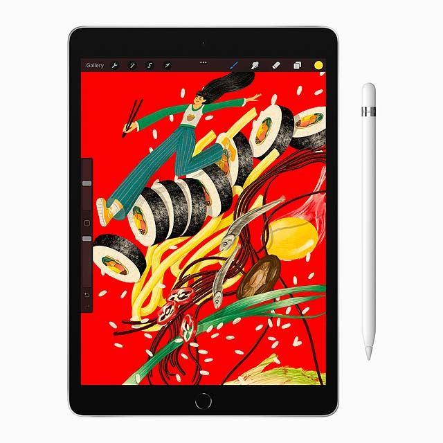 アップル、64GB/A13 Bionic採用で39,800円からの10.2型「iPad」