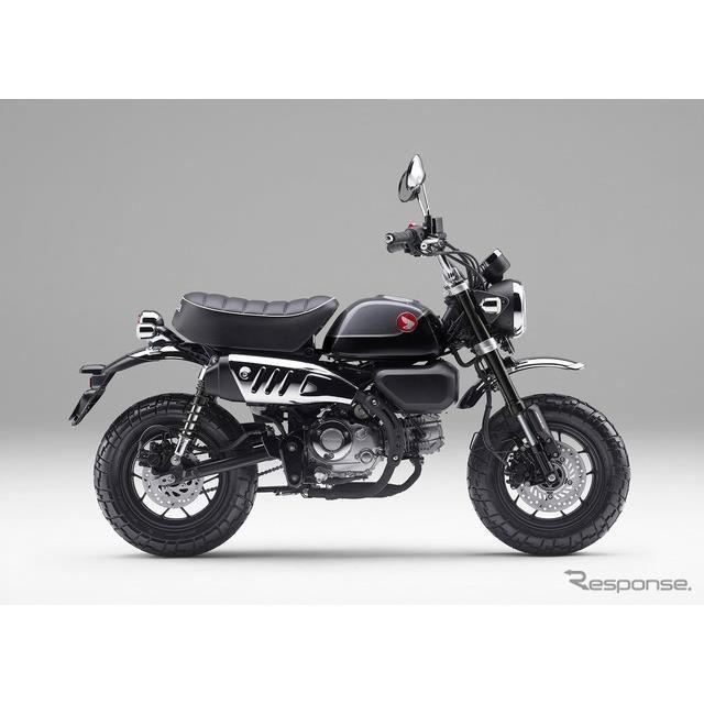 ホンダ モンキー125(パールシャイニングブラック)