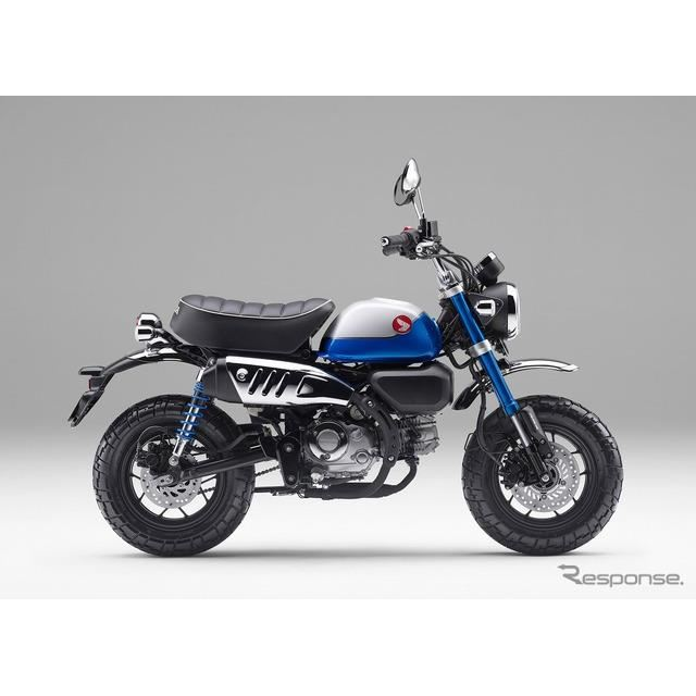 ホンダ モンキー125(パールグリッターリングブルー)