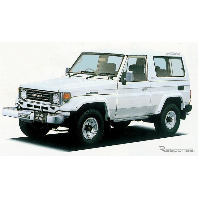 1990年:ランドクルーザー70系(ヘビーデューティ)