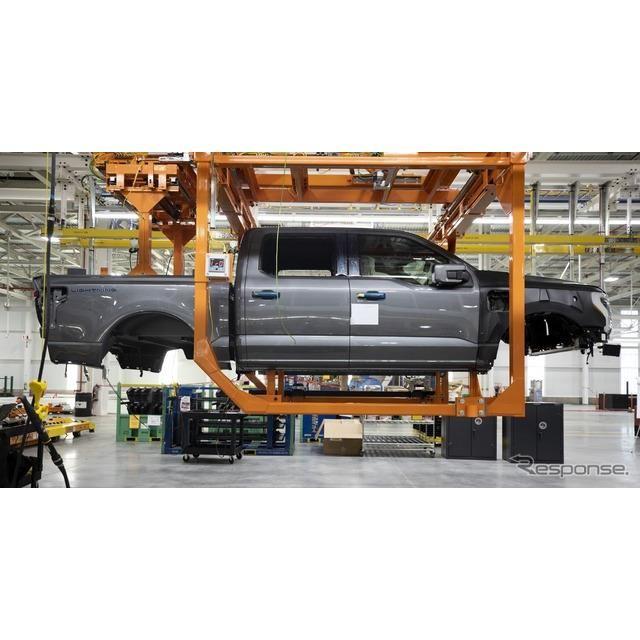 フォード F-150 ライトニング のプリプロダクションモデル