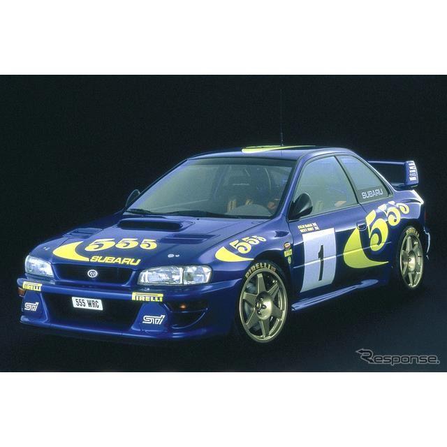 1997年スバル・インプレッサWRカー