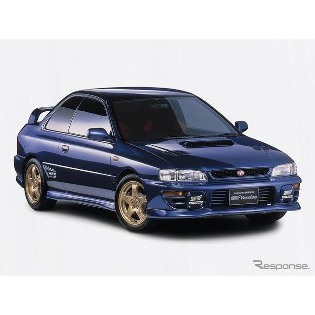 1997年スバル・インプレッサ・クーペWRX type R STi Ver. IV