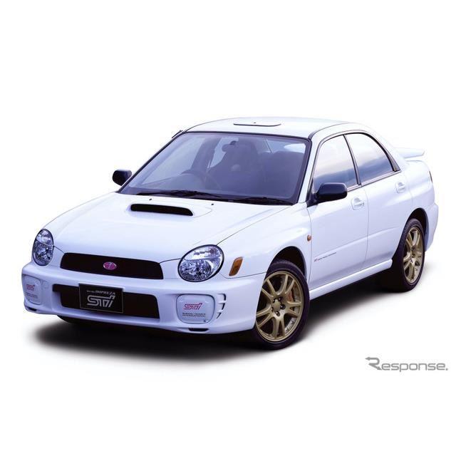 2000年スバル・インプレッサWRX STi type RA