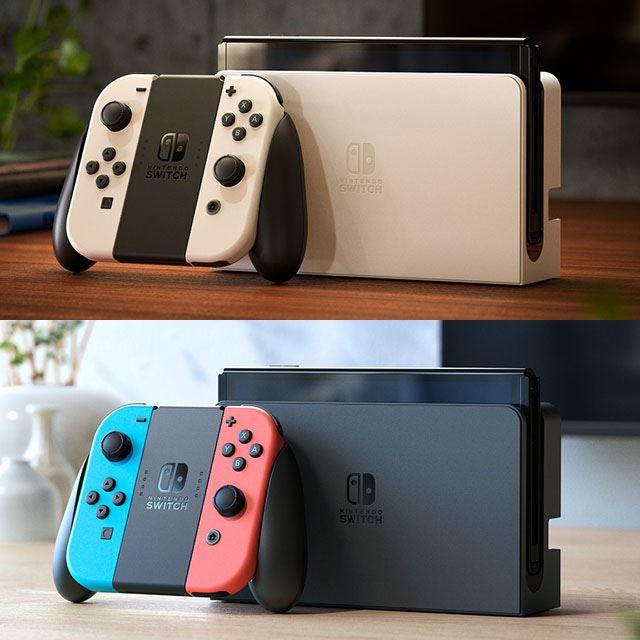 「Nintendo Switch(有機ELモデル)」の予約開始