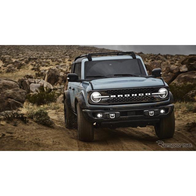 フォードモーターのフォード・ブロンコ 新型(参考)