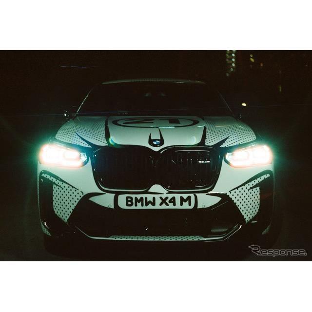 BMW X4 M コンペティション 改良新型をベースにジョシュア・ヴィーダス氏が手がけたアートカー