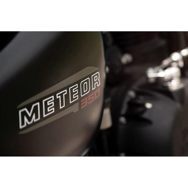 「METEOR」というモデル名は、英語で「流れ星」を意味する。