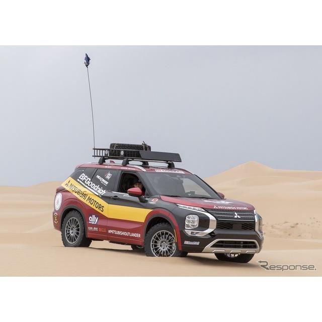 三菱 アウトランダー 新型の米「Rebelle Rally」参戦車両