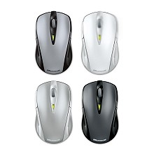 Microsoft Wireless Notebook Laser Mouse 7000 Titanium