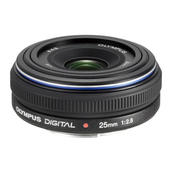 [ZUIKO DIGITAL 25mm F2.8] フォーサーズマウント専用の標準単焦点パンケーキレンズ(25mm)