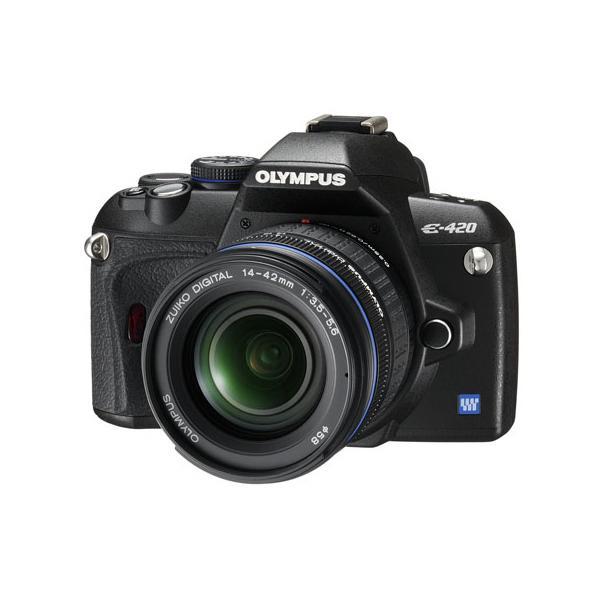 [E-420] AFライブビューを搭載した小型軽量エントリー向けデジタル一眼レフカメラ
