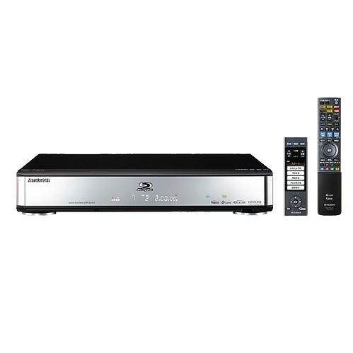 [DVR-BZ200] 「液晶グット楽リモコン」/REALINKに対応したBlu-ray Discレコーダー(500GB)