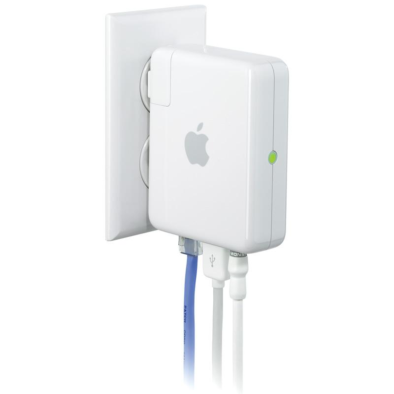 [AirMac Express MB321J/A] オーディオ機器などを接続できるモバイル無線LANステーション