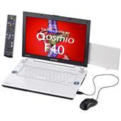 [Qosmio F40 F40/86FBL PQF4086FLRBL] Core 2 Duo T8100やHDMI端子を備えた15.4型液晶搭載ノートPC(200GB/Office)。価格はオープン