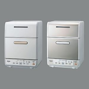 [BW‐GS40] フレックス下かご/2段階調節上かご/5方向ジェットノズルを搭載した食器洗い乾燥機(写真左)。価格は105,000円(税込)