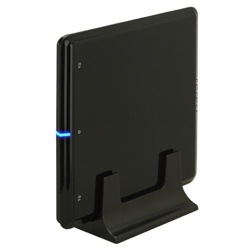 [BLACK BASE CTM25U2B] 2.5インチSATA HDDを2台収納可能なUSB2.0外付HDDケース。直販価格は9,800円(税込)