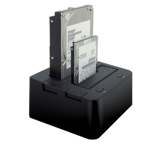 [裸族のお立ち台DJ CROS2EU2] 22.5/3.5型SATA HDDに対応した外付け2.0HDDケース(eSATA対応)。直販価格は8,980円(税込)