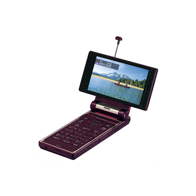 [AQUOSケータイ 923SH] 5.2メガカメラ、GPS、ワンセグ、スマートリンク辞書などを備えた3.3型液晶搭載折りたたみ式携帯電話