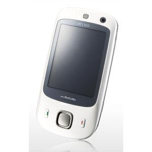 [HT1100] タッチパネルや「Windows Mobile 6 Professional」を搭載したスマートフォン(ホワイト)
