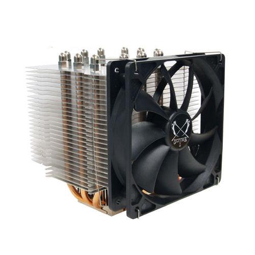[NINJA2 SCNJ-2000] ファンレスでの使用が可能なタワー型CPUクーラー (12cmファン付)