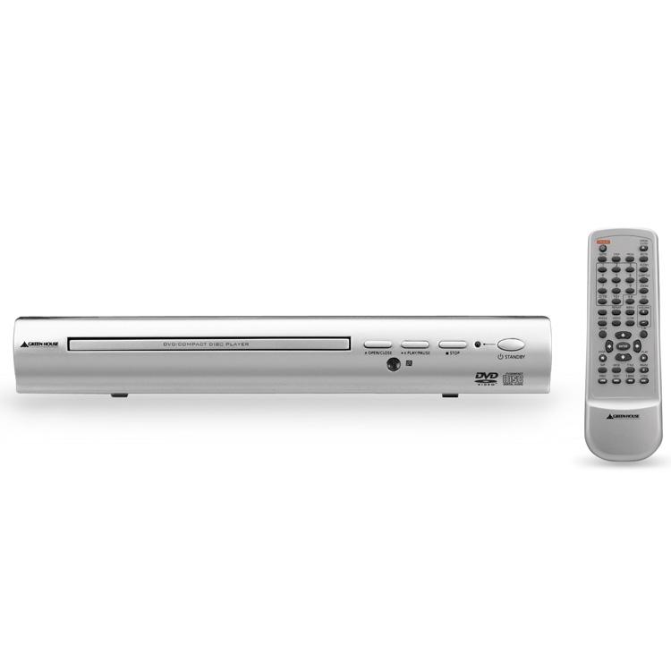 [GH-DV100S] コンポーネント/コンポジット/S-ビデオ出力端子を搭載するDVDプレーヤー。市場想定価格は3,980円