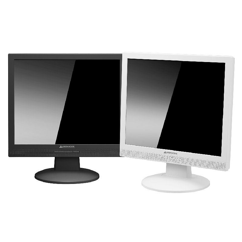 [GH-TIG173GS] 液晶画面に硬化ガラスフィルタを装備した17型SXGA液晶ディスプレイ。直販価格は39,800円(税込)