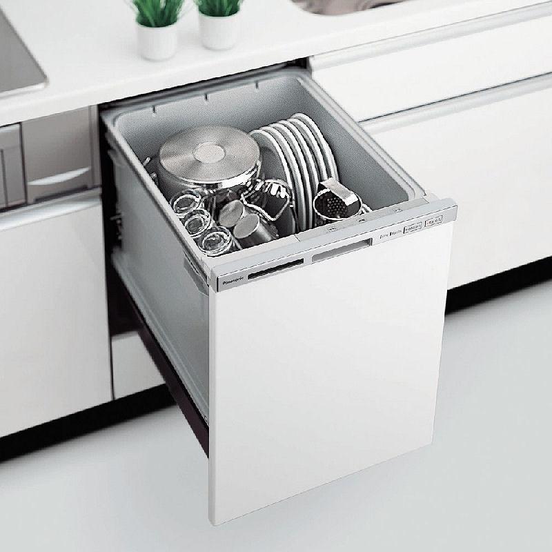 [ビルトイン式食器洗い乾燥機 M2シリーズ/V3シリーズ] 幅45cmのビルトイン式食器洗い乾燥機。価格は150,150〜208,950円(税込)