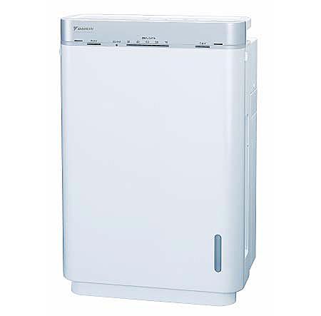 [うるおい 光クリエール MCK75J-W] 加湿機能/大風量集塵/ストリーマ放電・光触媒技術を備えた加湿空気清浄機。価格はオープン