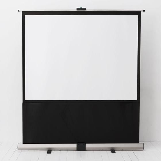 [RSシリーズ] ガススプリングとパンタグラフフレームを搭載したモバイルスクリーン。本体価格は46,000〜83,000円