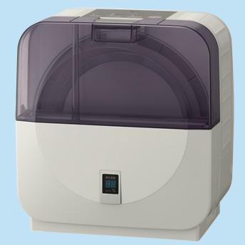 [ラクリアミスト SV-DK808] 水脱臭や加湿フィルターの交換と掃除不要な最大加湿能力毎時780(50Hz)/800mL(60Hz)のディスク気化式加湿機。価格は42,000円(税込)