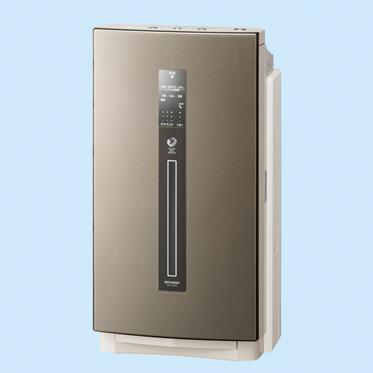 [ラクリアエア MA-518DK] すべてのフィルターが10年間交換不要な加湿空気清浄機(24畳)。価格は69,300円(税込)