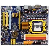 [HA07] グラフィック機能統合チップセット「AMD790GX/SB750」を搭載したATXマザーボード(DDR2メモリー)。市場想定価格は13,800円(税込)