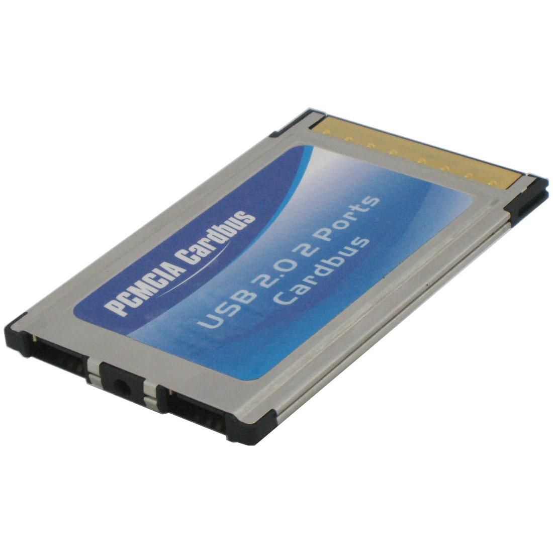 [PITAT-USB] USB2.0端子を2基搭載したCardbus対応PCカード。市場想定価格は1,880円(税込)