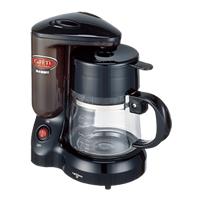 [IC-3802] 半透明目盛り付き水タンクや浄水機能を備えたコーヒーメーカー(0.67L)。価格はオープン