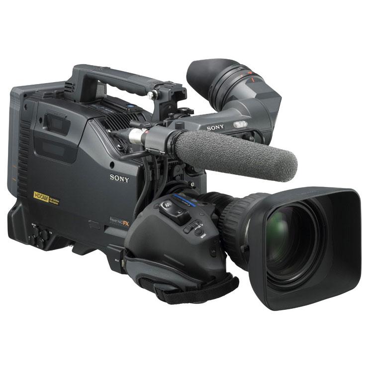 [HDW-650] 2/3型フルHD対応IT型 「PowerHAD」FX CCDブロックを搭載したHDCAMカムレコーダー。価格は493万5,000円(税込)