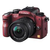 [DMC-G1] マイクロフォーサーズ規格を採用したデジタル一眼カメラ(コンフォートレッド)。ボディ単体の市場想定価格は80,000円前後